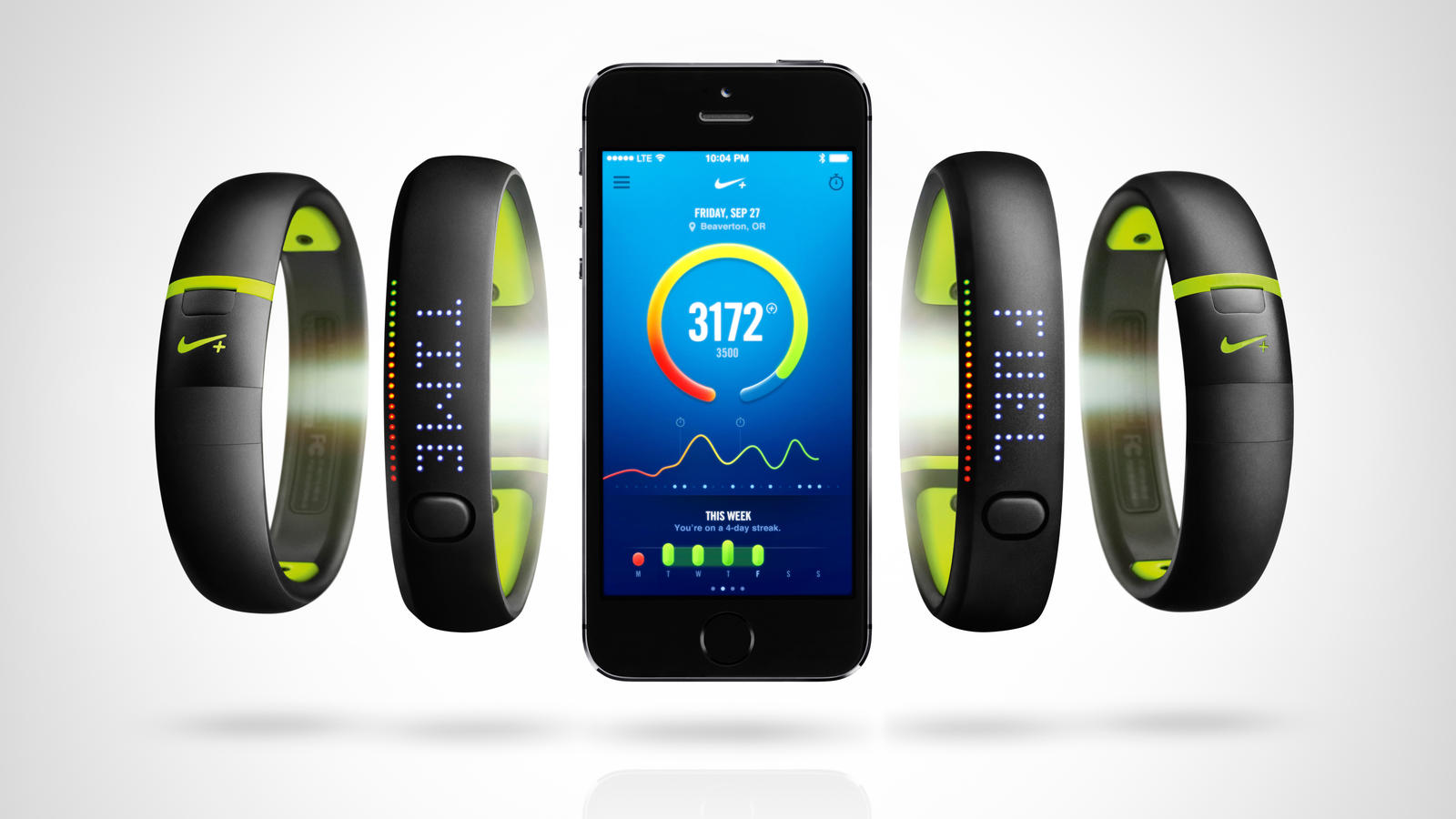 Nike+ FuelBand SE - iPhone