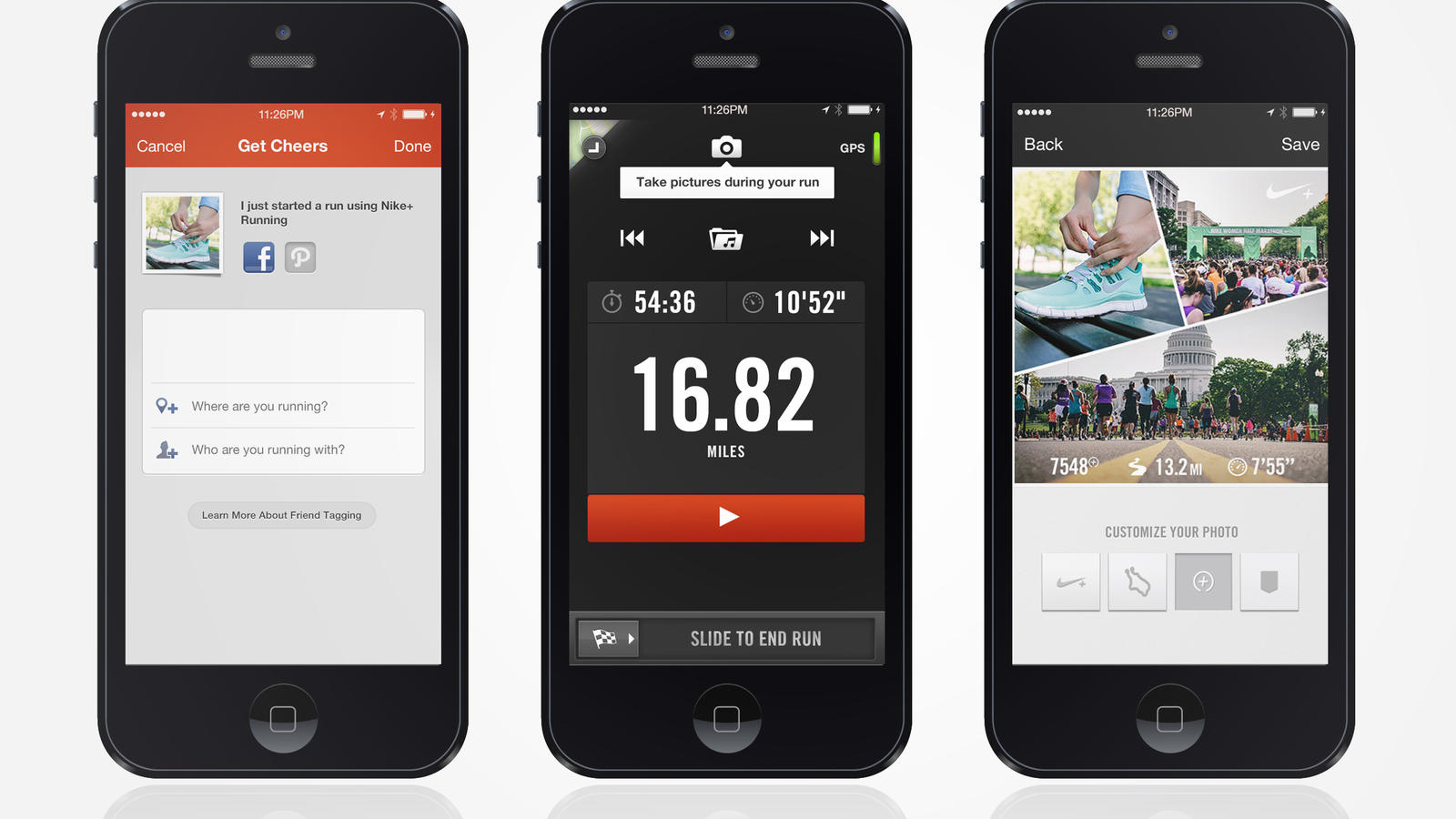Analista Ruina Prever  Nike+ Running App Update Introduces Photo Sharing - Nike News