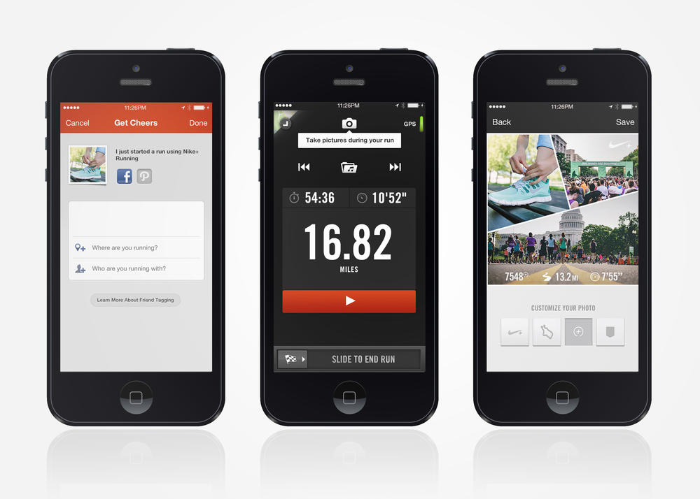 Nike+ Running App Update Introduces Photo Sharing