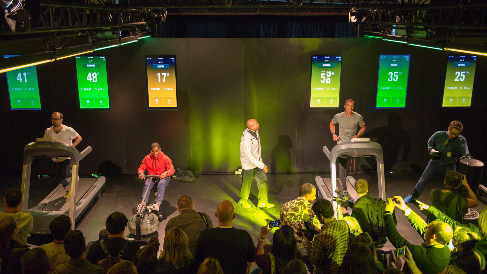 Victor Cruz, Ashton Eaton - Nike+ event