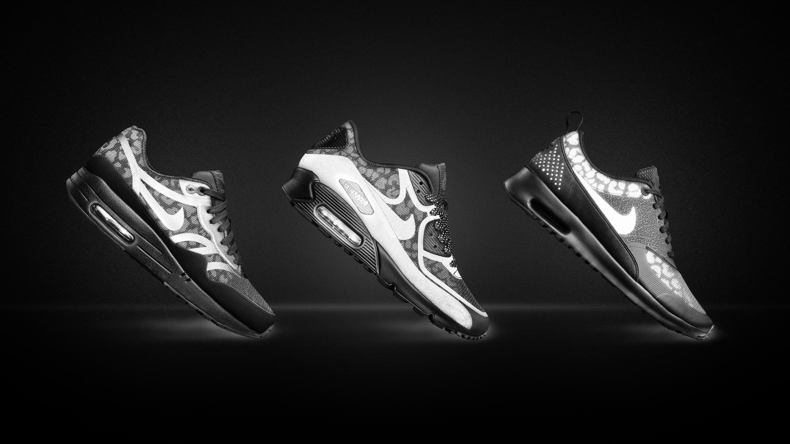 The Nike Air Max Reflect Collection: One Shoe, Both Sides of