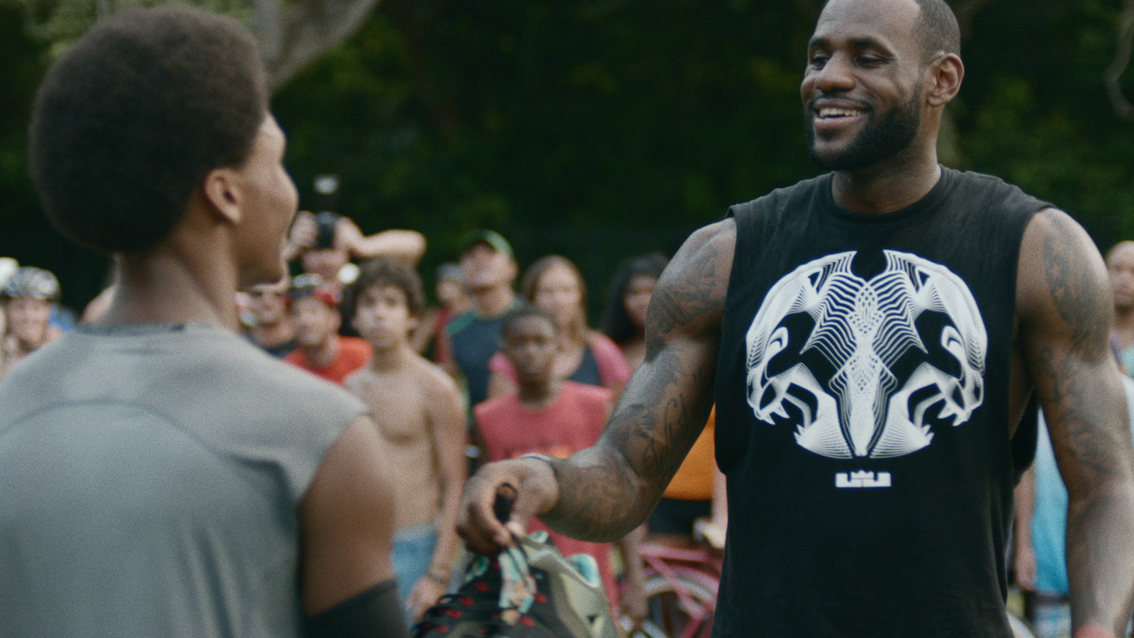 "LeBron ""Training Day"" Campaign"