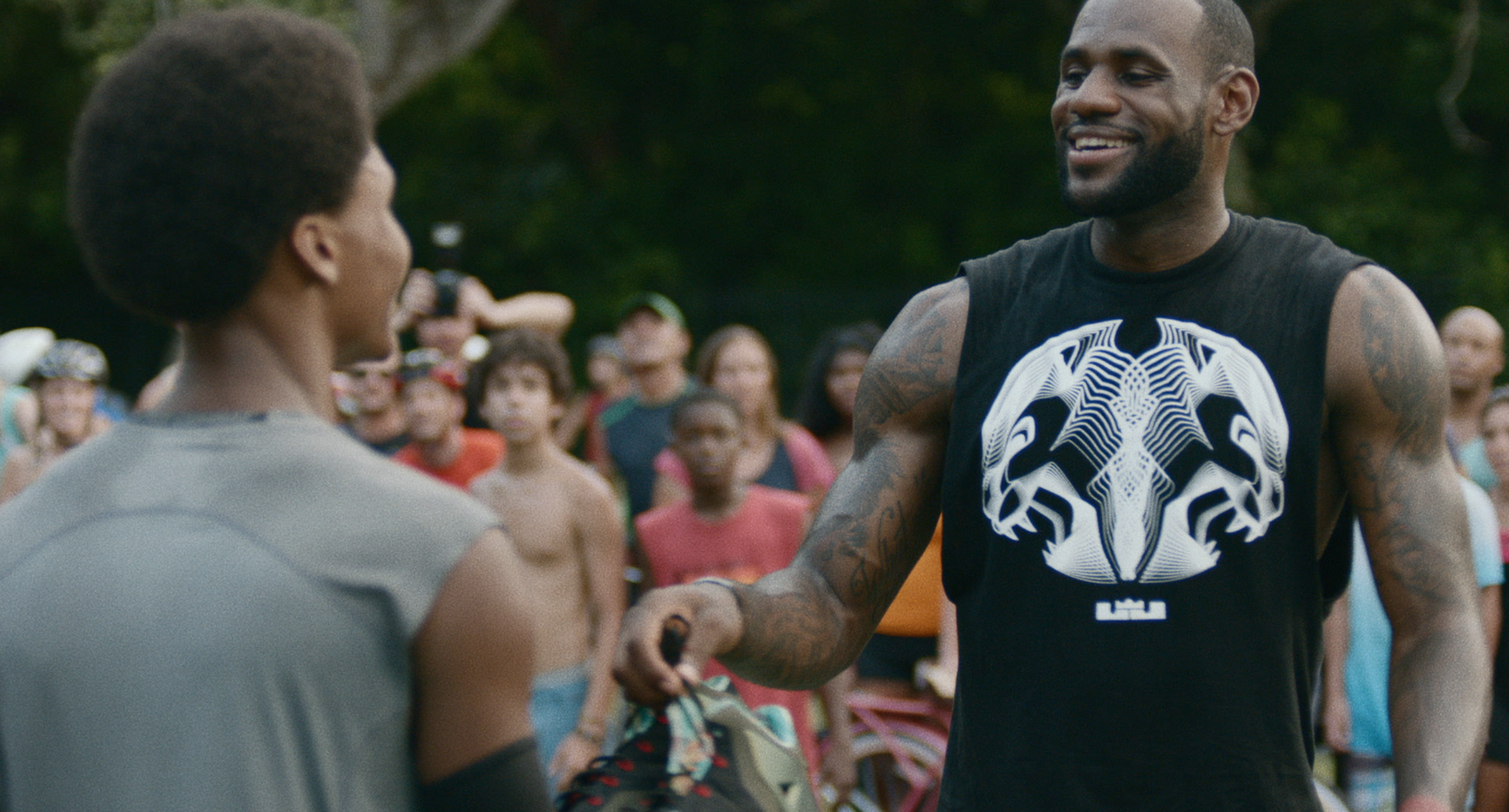 """reputable site af91a 7998f Nike Basketball debuts the LeBron James """"Training Day"""" Campaign."""