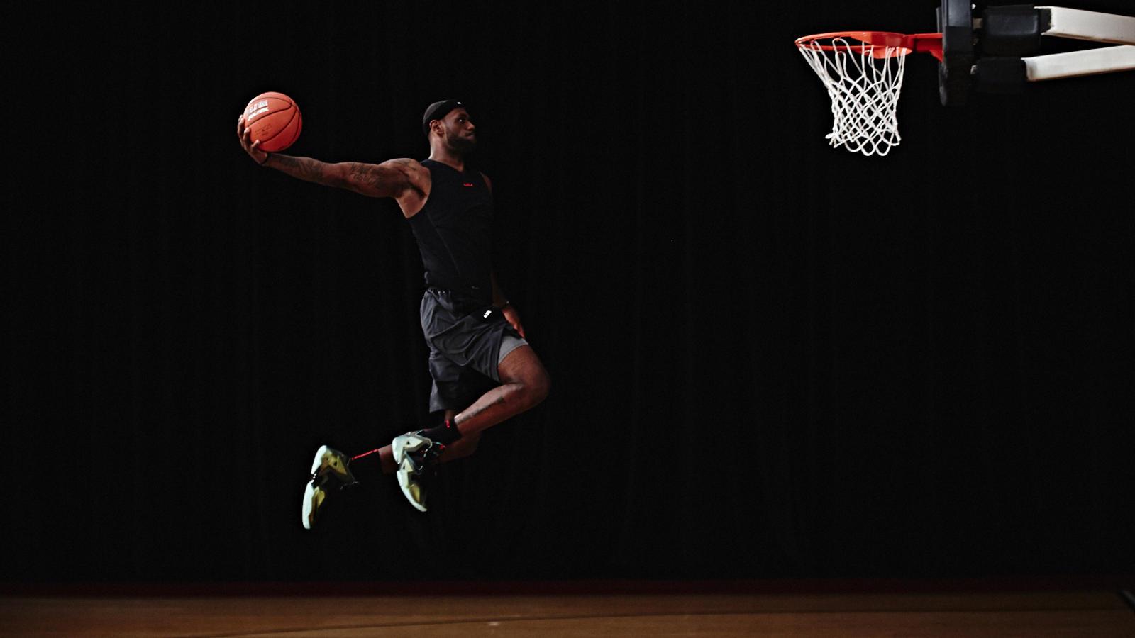 lebron james basketball nike