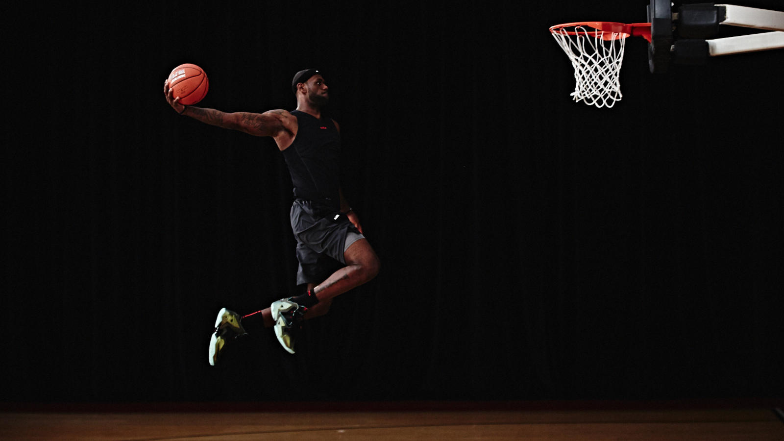 "premium selection 64c65 b46e2 LeBron James ""Rubber City Soul"" Poem - Nike News"
