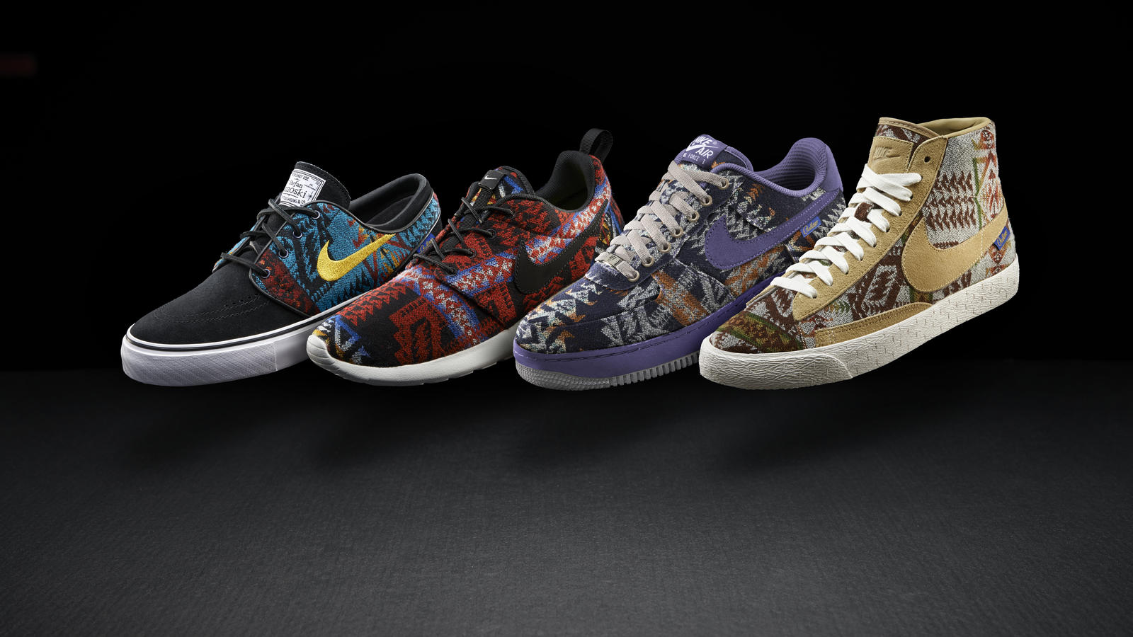 meet 6ad01 d7082 shopping pendleton nike roshe run premium id mens shoe 87be5 36f00   wholesale nike and pendleton woolen mills two icons of pacific northwest  design combine ...