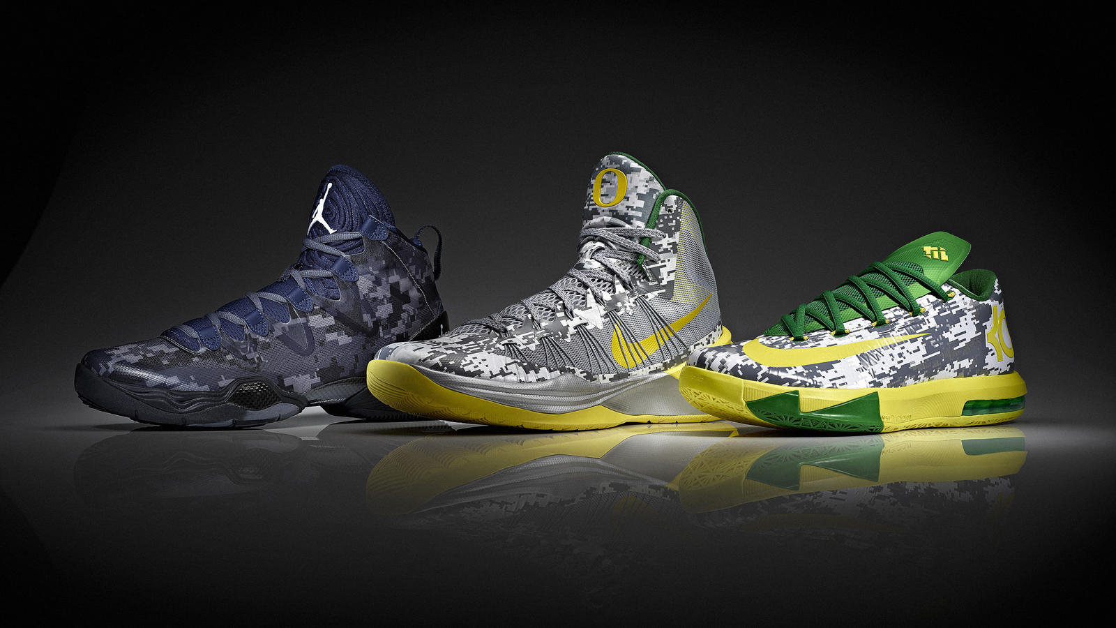 Oregon and Georgetown Footwear Options for Armed Forces Classic