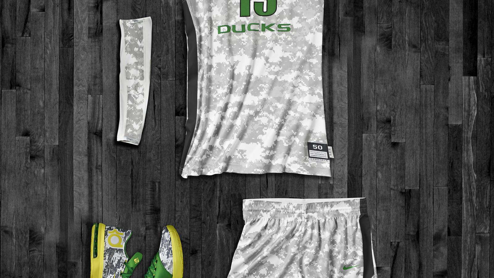 Oregon Hyper Elite Uniform and KD VI for Armed Forces Classic