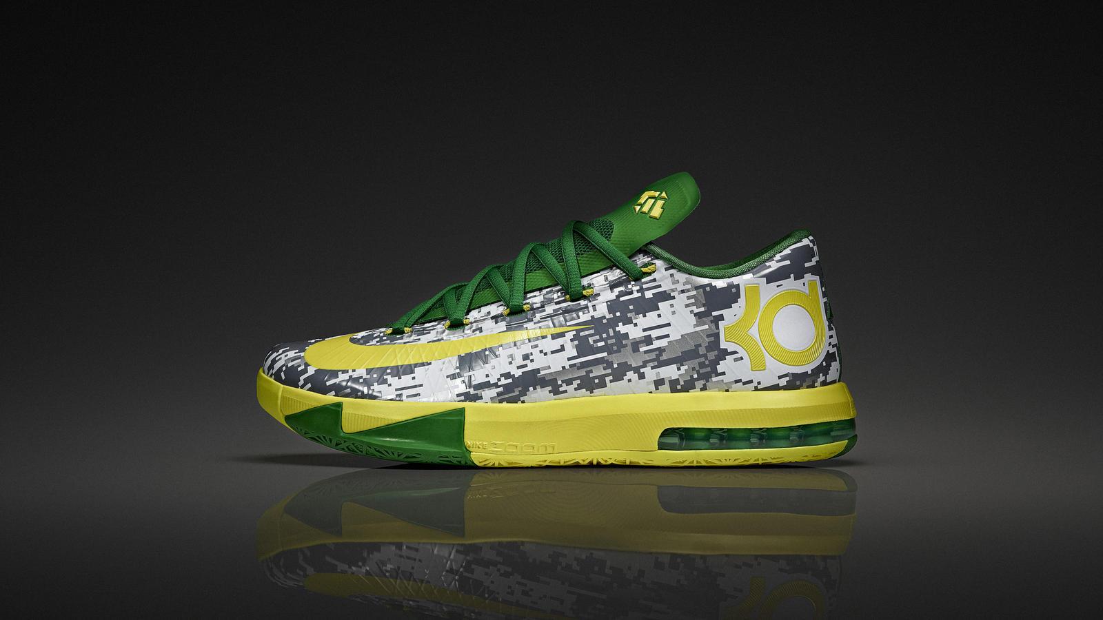 Nike KD VI for Oregon