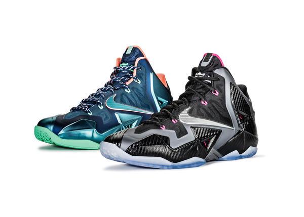 competitive price f8ace 8cde8 LEBRON 11  Akron vs. Miami   Miami Nights - Nike News
