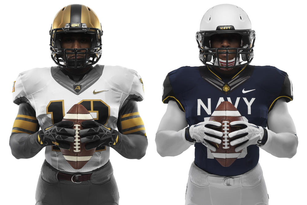 Army and Navy - New Nike Uniforms for 114th Meeting