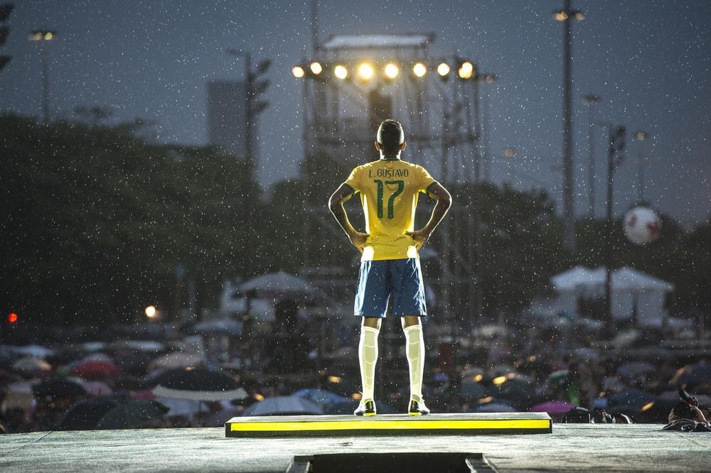 Nike Revela a Camisa da Seleção Brasileira no Festival dos Esportes
