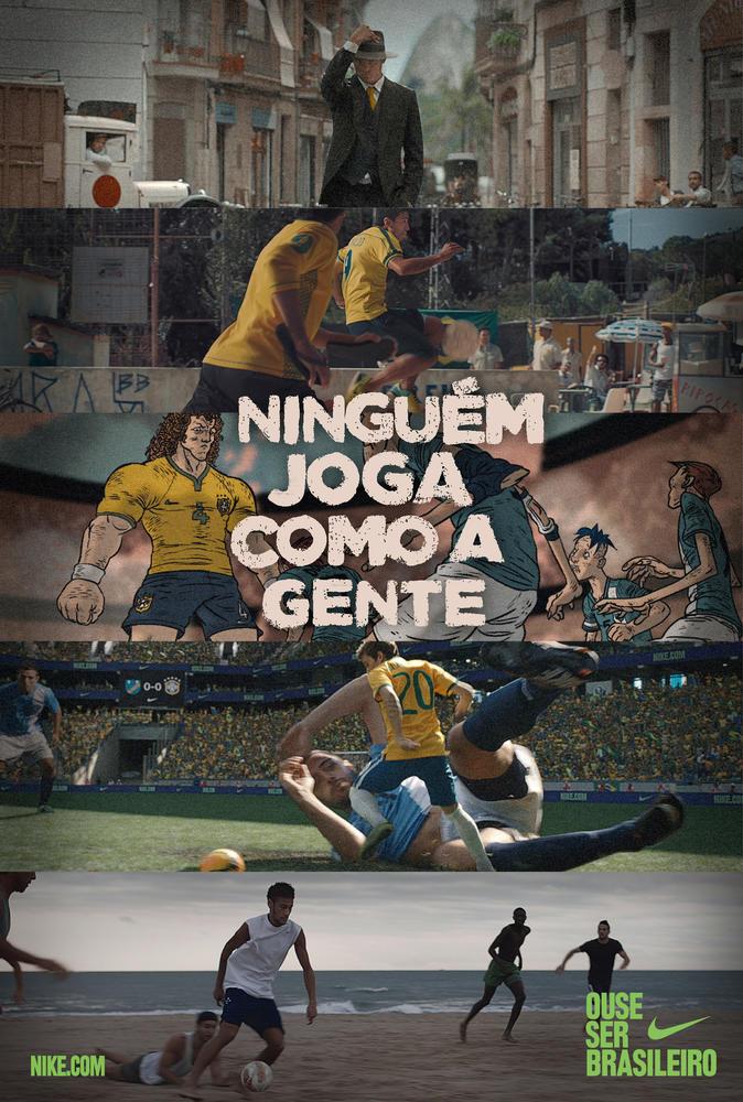 Nike Lança Campanha Ouse Ser Brasileiro