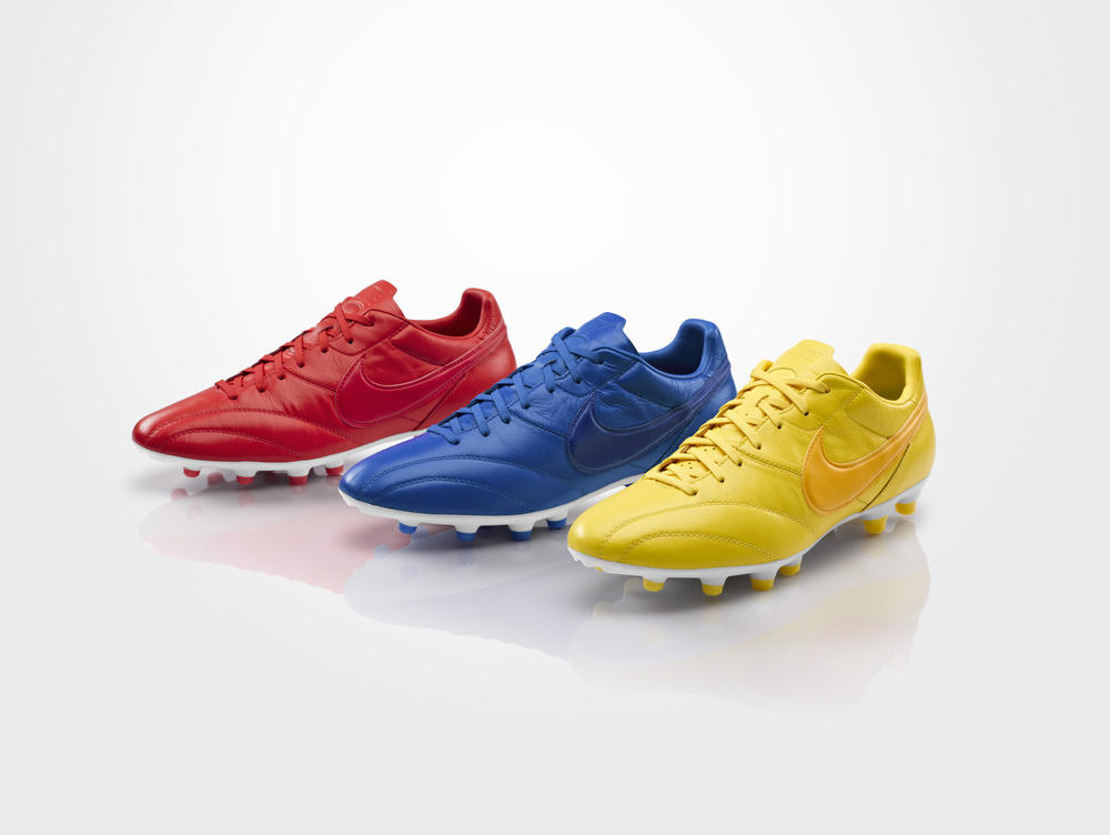 Nike Football Releases Nike Premier Boots in Brasil, England and France Editions