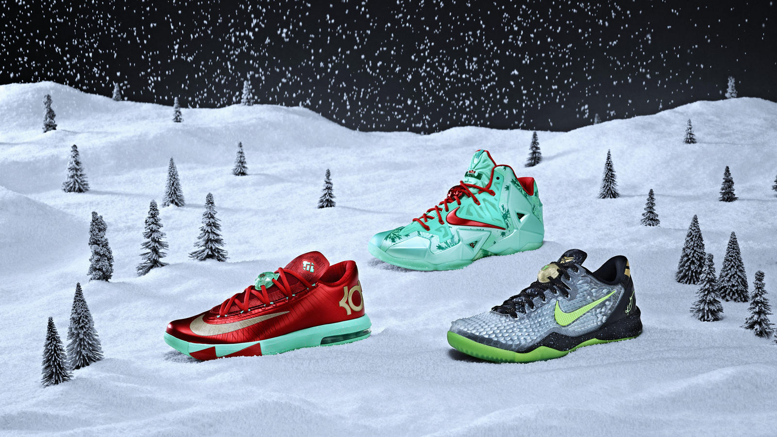 Nike Basketball Unwraps Its Annual Set of Festive ...