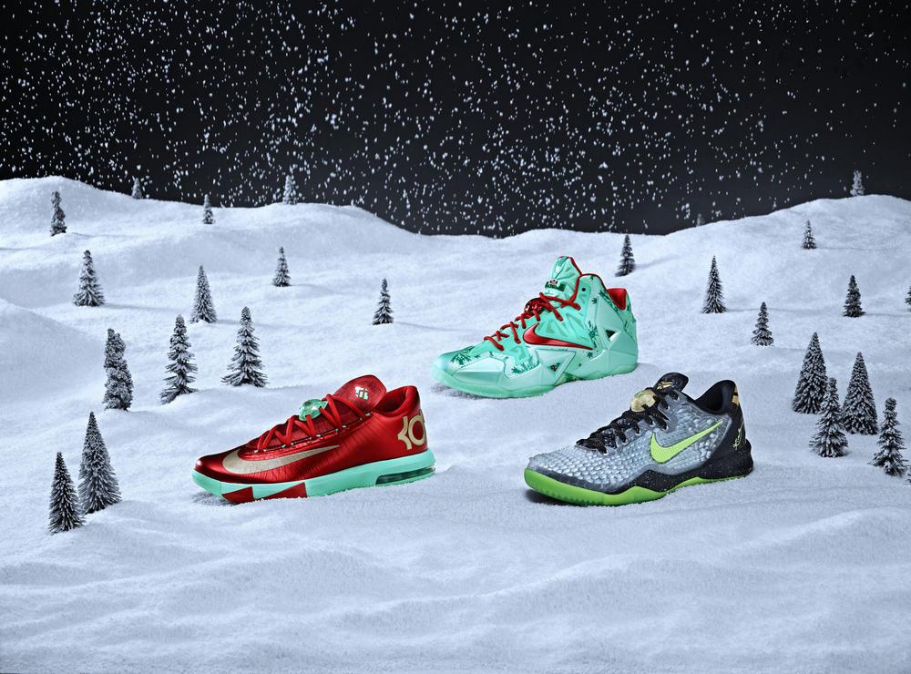 Nike Basketball Unwraps Its Annual Set of Festive Signature Footwear