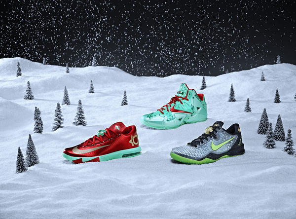 Nike Basketball Unwraps Its Annual Set of Festive Signature Footwear