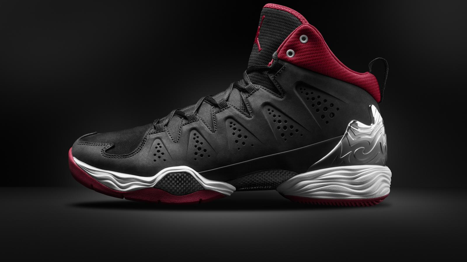 MELO M10_BLACK/WHITE-ANTHRACITE-GYM RED