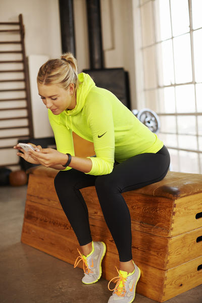 Crush New Year S Resolutions With Maria Sharapova Nike Training Club Workout