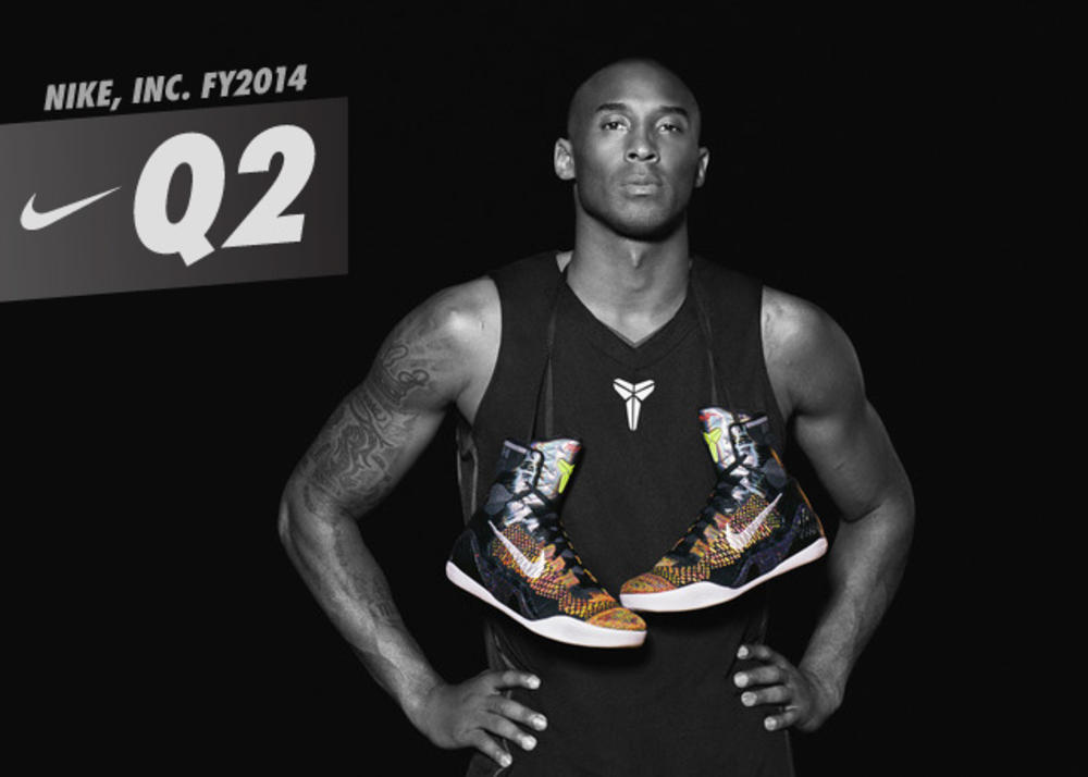 NIKE, Inc. Reports Fiscal 2014 Second Quarter Results