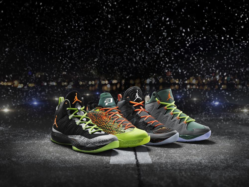 Jordan Brand Athletes Prepare for Takeoff with Holiday Edition Exclusives
