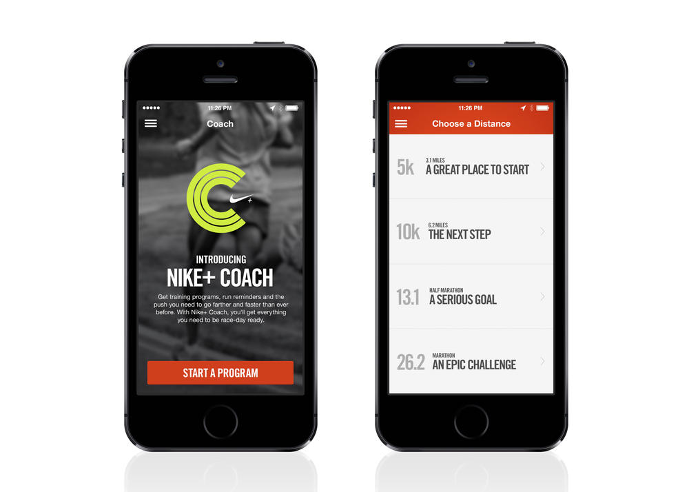 Nike+ Coach Feature Motivates Runners with Customized Training Plans
