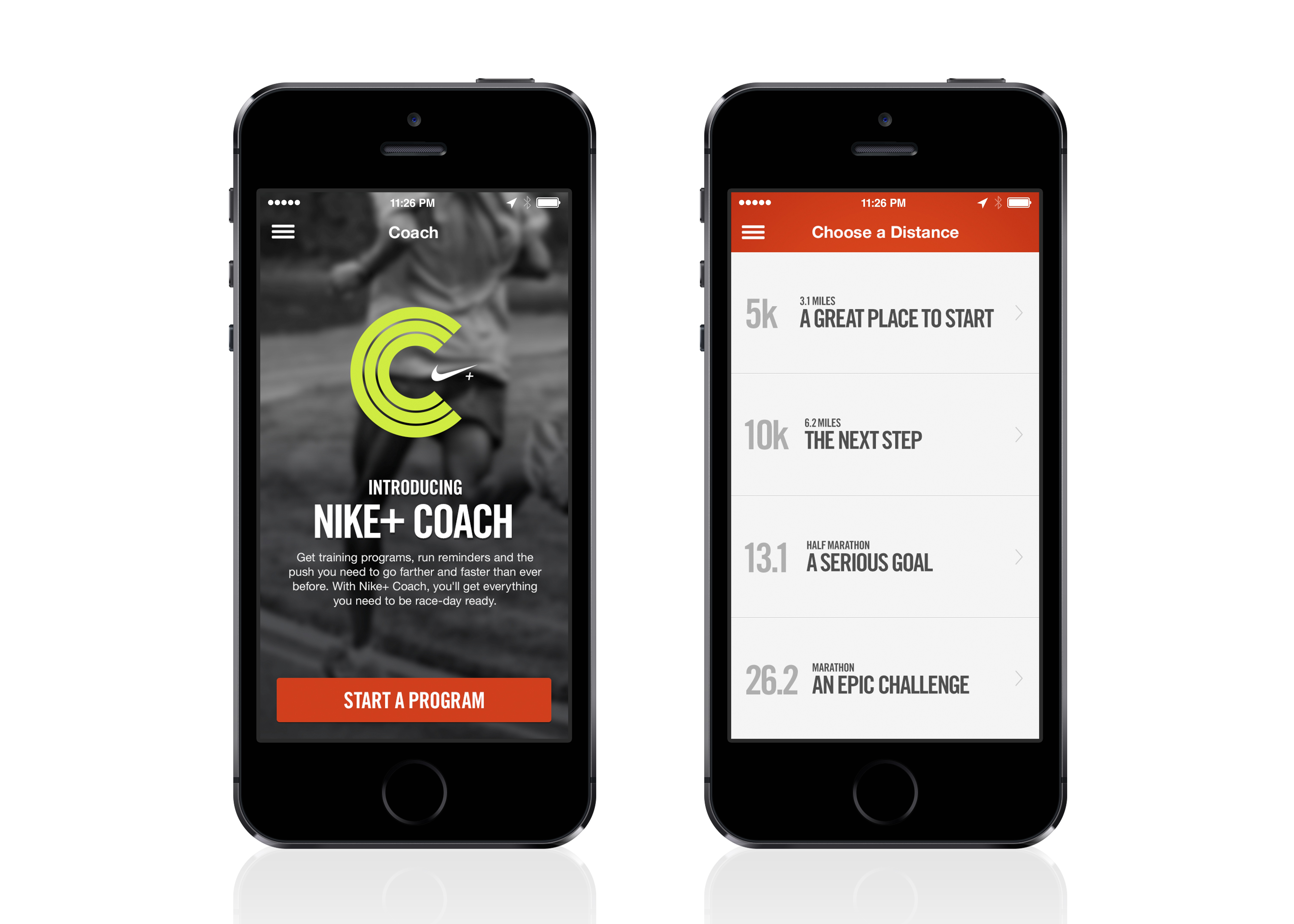LO � HI. Nike+ Coach Feature Motivates Runners ...