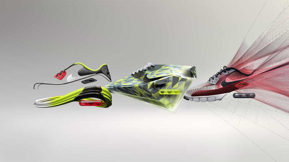 Air Superiority: Nike's Latest Innovations Showcased On Three New Air Max 90s.