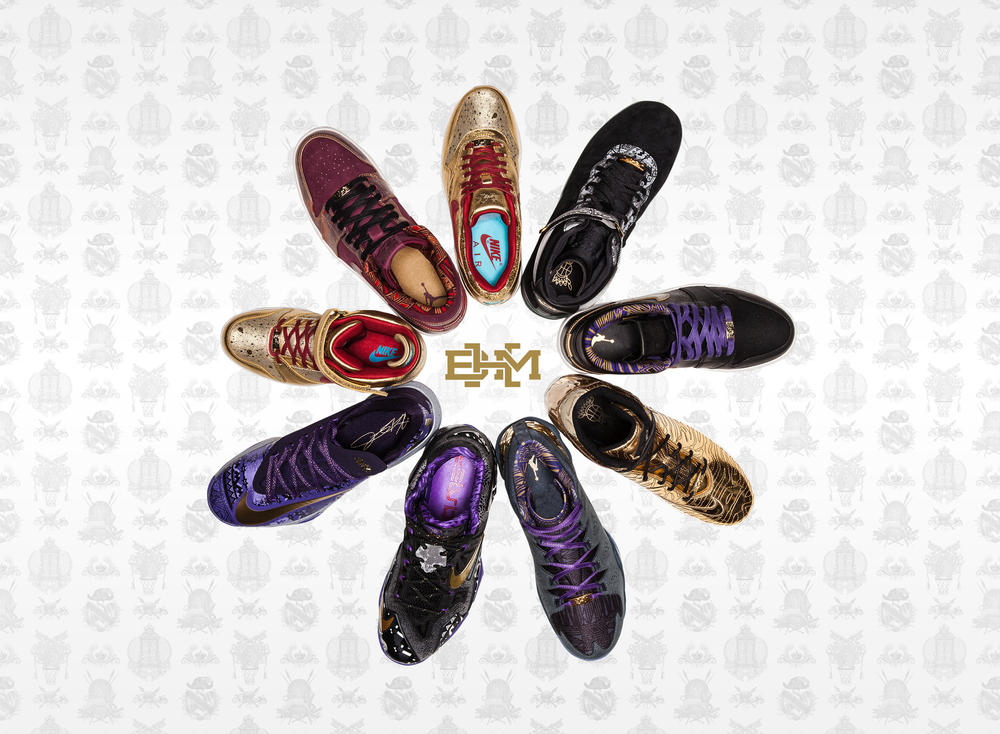2014 BHM Collection Celebrates Sport Royalty