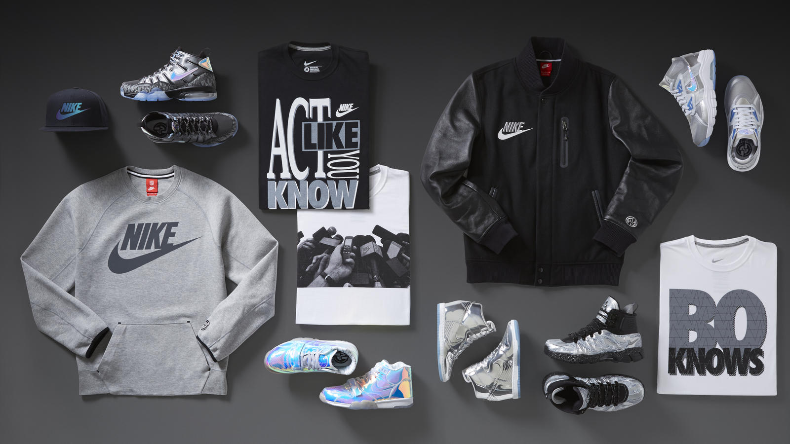 Nike Knows Legendary Style. Nike Sportswear collection celebrates the  lifestyle of training and football. Share Image