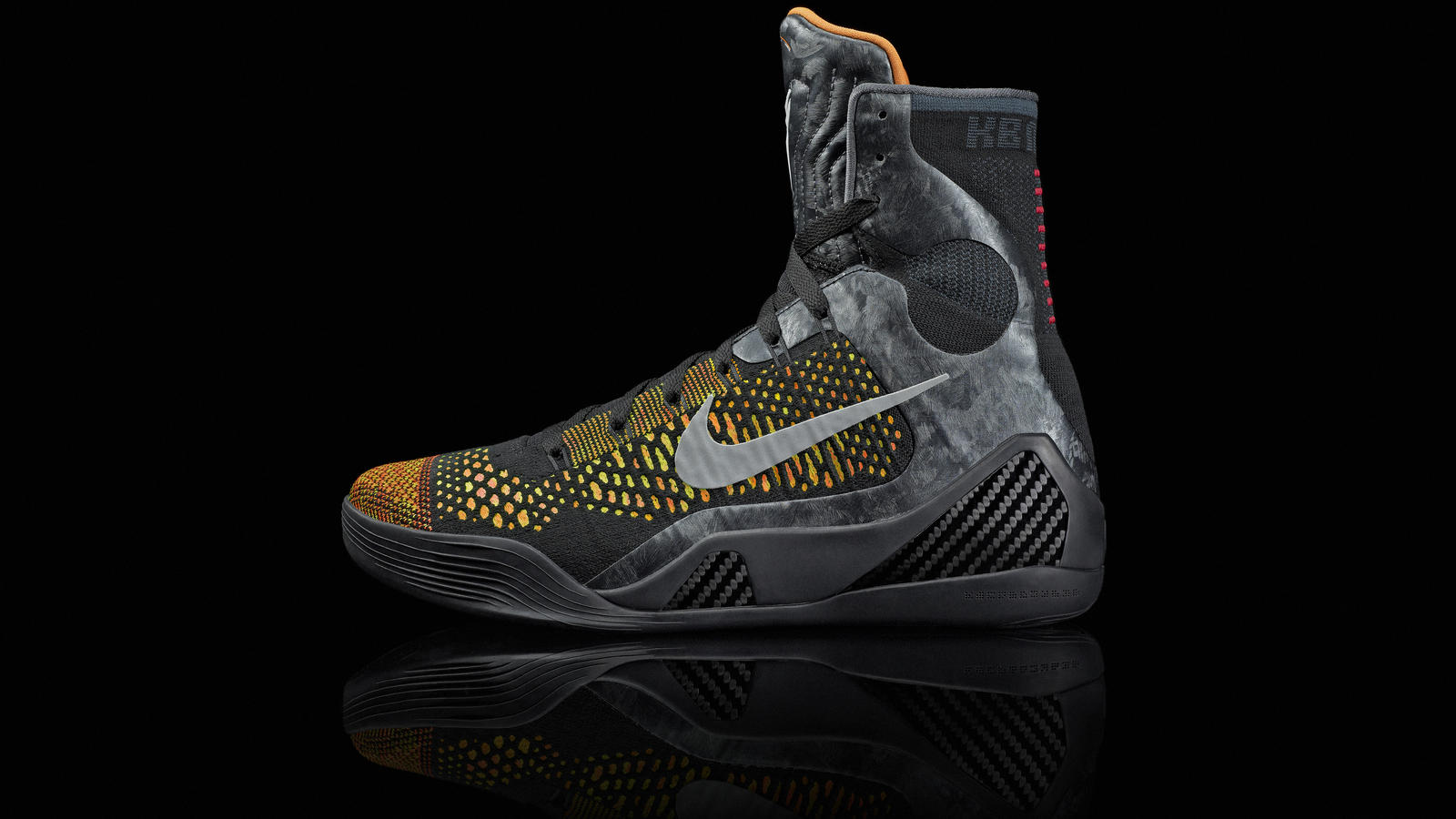 new arrival 29525 557e8 kobe ix flynight inspire colorup lat. kobe ix flynight whtgry lat.  kobe ix flynight whtgry det v2. kobe ix flynight perspective det v1