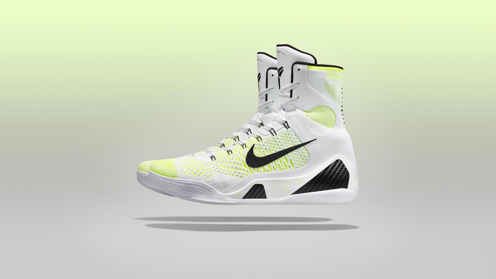 Kobe 9 White Hi
