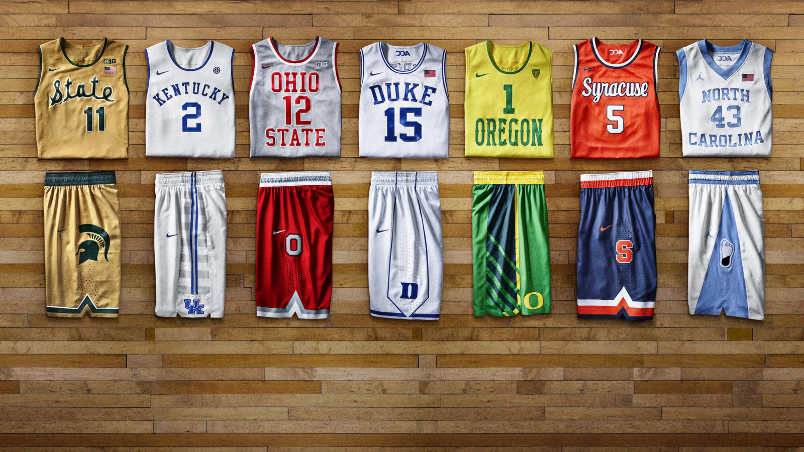 b32b5887cac Past Meets Present  Nike Basketball Hyper Elite Dominance Uniforms ...