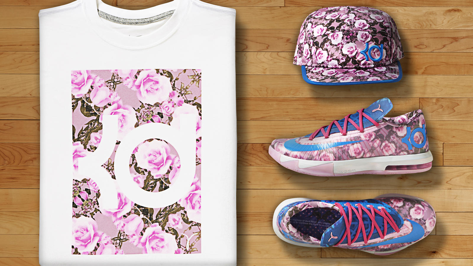Honoring Kevin Durants Late Aunt Pearl - Nike News