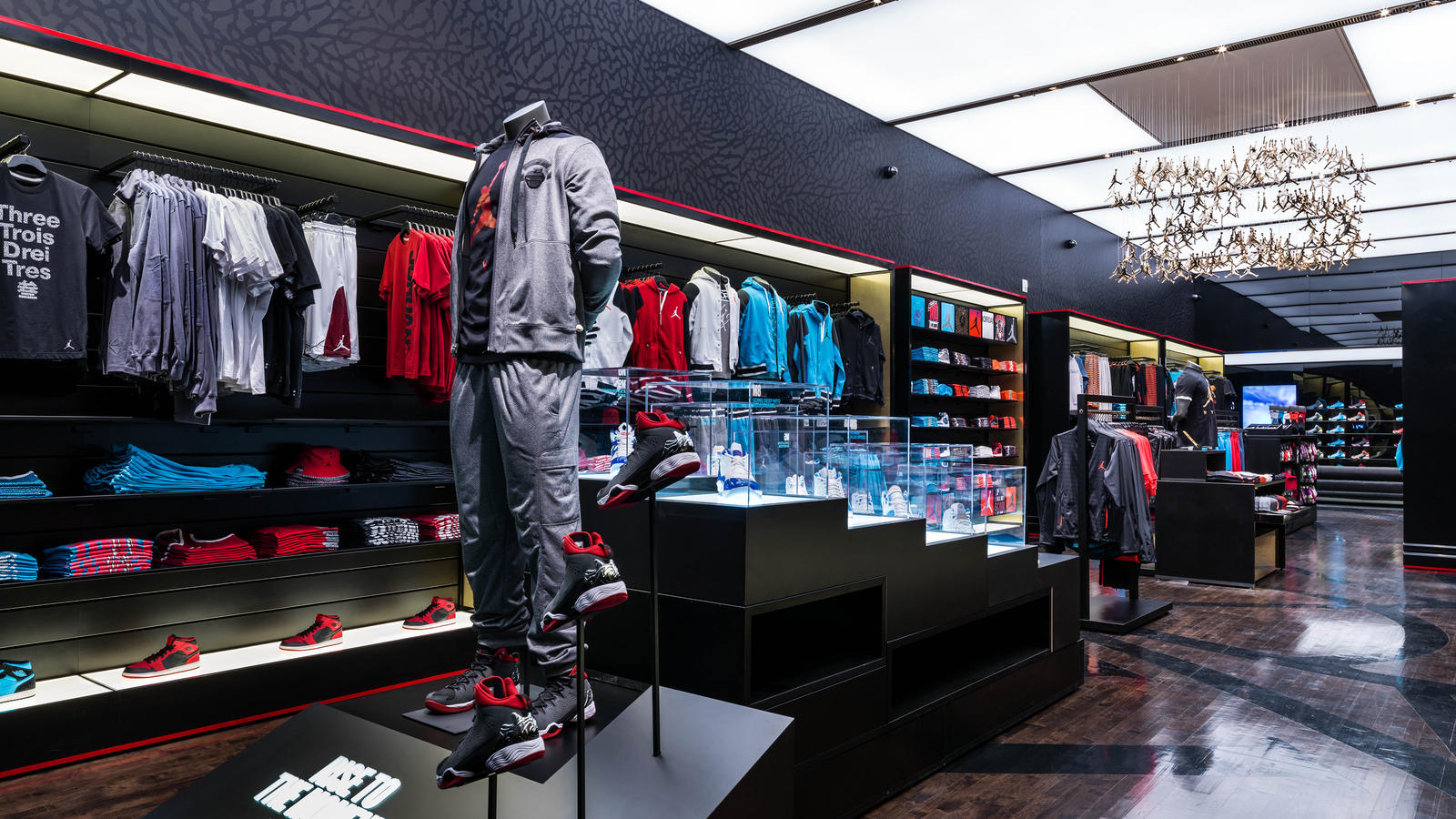 a91231db4477c2 Jordan Brand Celebrates Flight 23 at Footaction Grand Opening in New ...