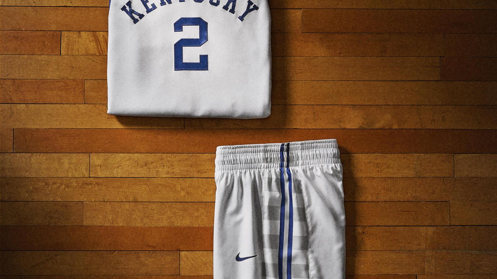 8b42747a7061 Kentucky short. nike 2014 ncaa bball kits ukwht det 5 v. Kentucky uniform  main