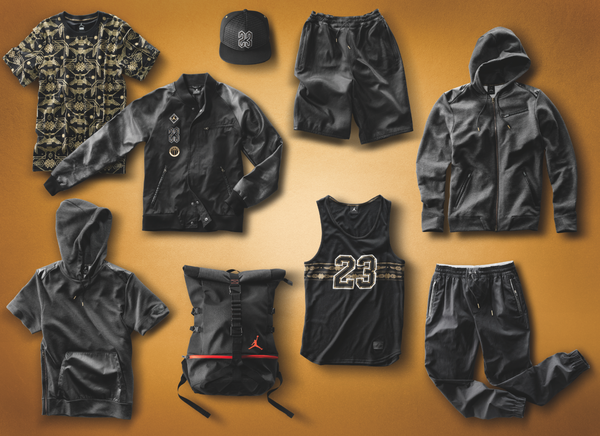 Jordan Brand Debuts Crescent City Gold Collection