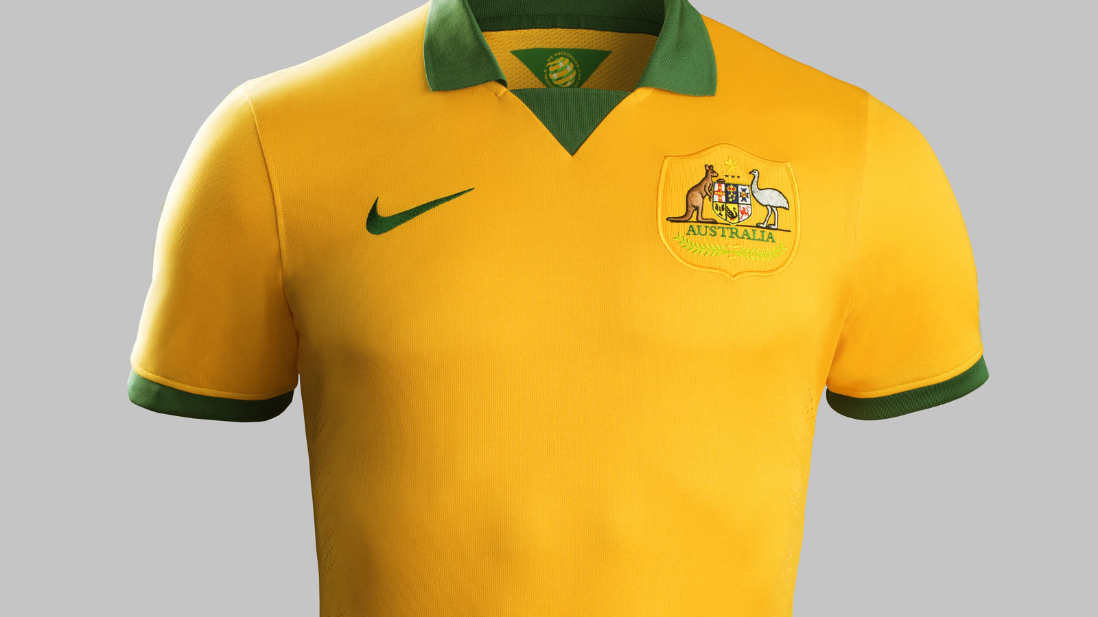 wholesale dealer 3184e aa5a8 Nike Football Unveils 2014 Australia National Team Kit ...