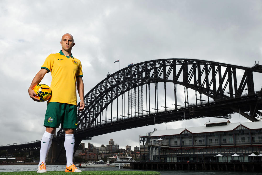 Nike Football Unveils 2014 Australia National Team Kit