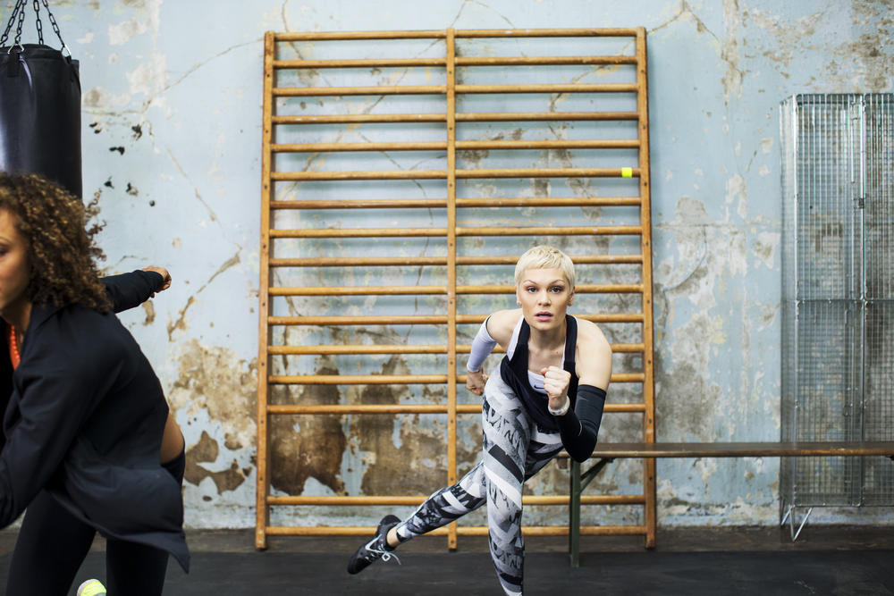 Feel Alive with Jessie J's New Nike+ Training Club High Intensity Training Workout
