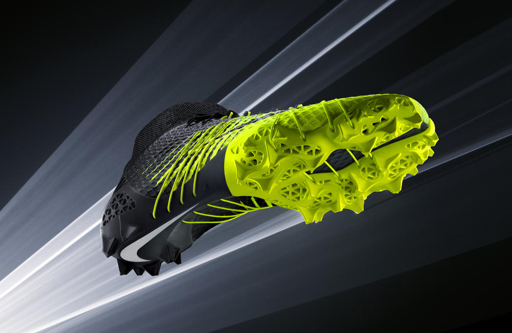 "Nike Football Accelerates Innovation with 3D printed ""Concept Cleat"" for Shuttle"
