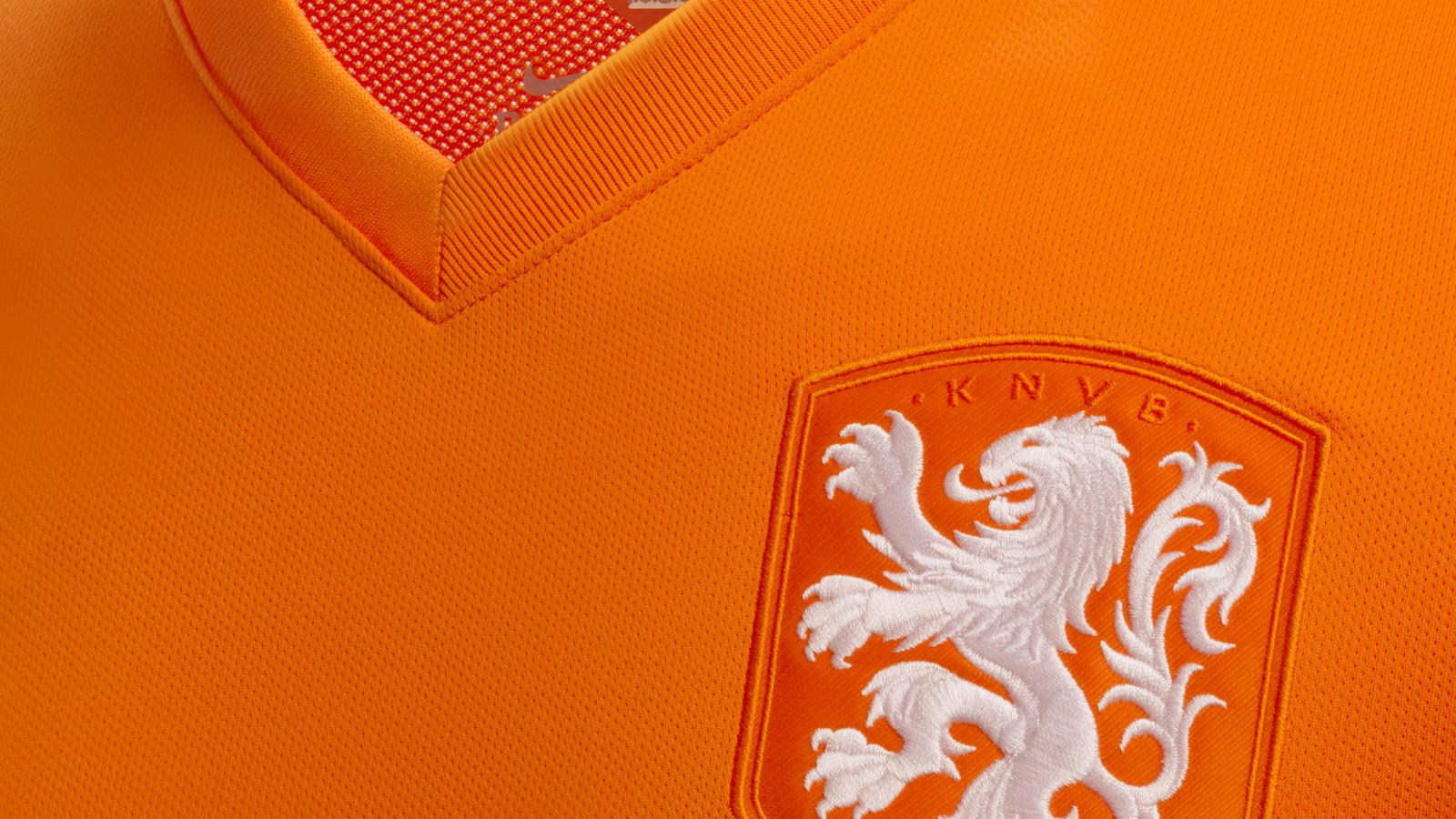 Netherlands home shirt - new crest