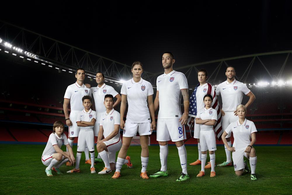 Nike Lança Uniforme da Seleção dos Estados Unidos para 2014