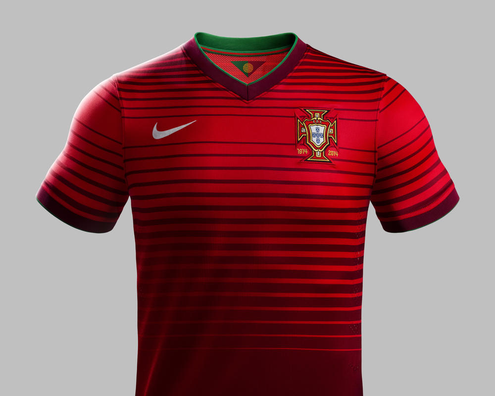 Portugal Unveils New Nike Home Kit for 2014