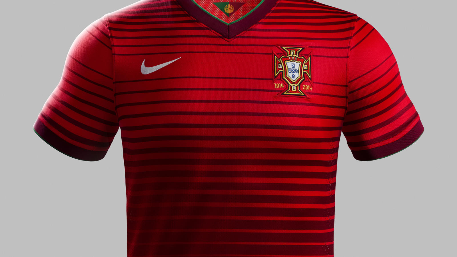 New Portugal home shirt