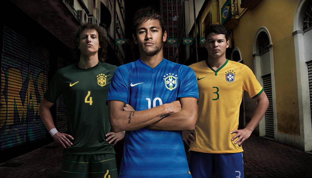 Seleção Brasileira Estreia Segundo Uniforme