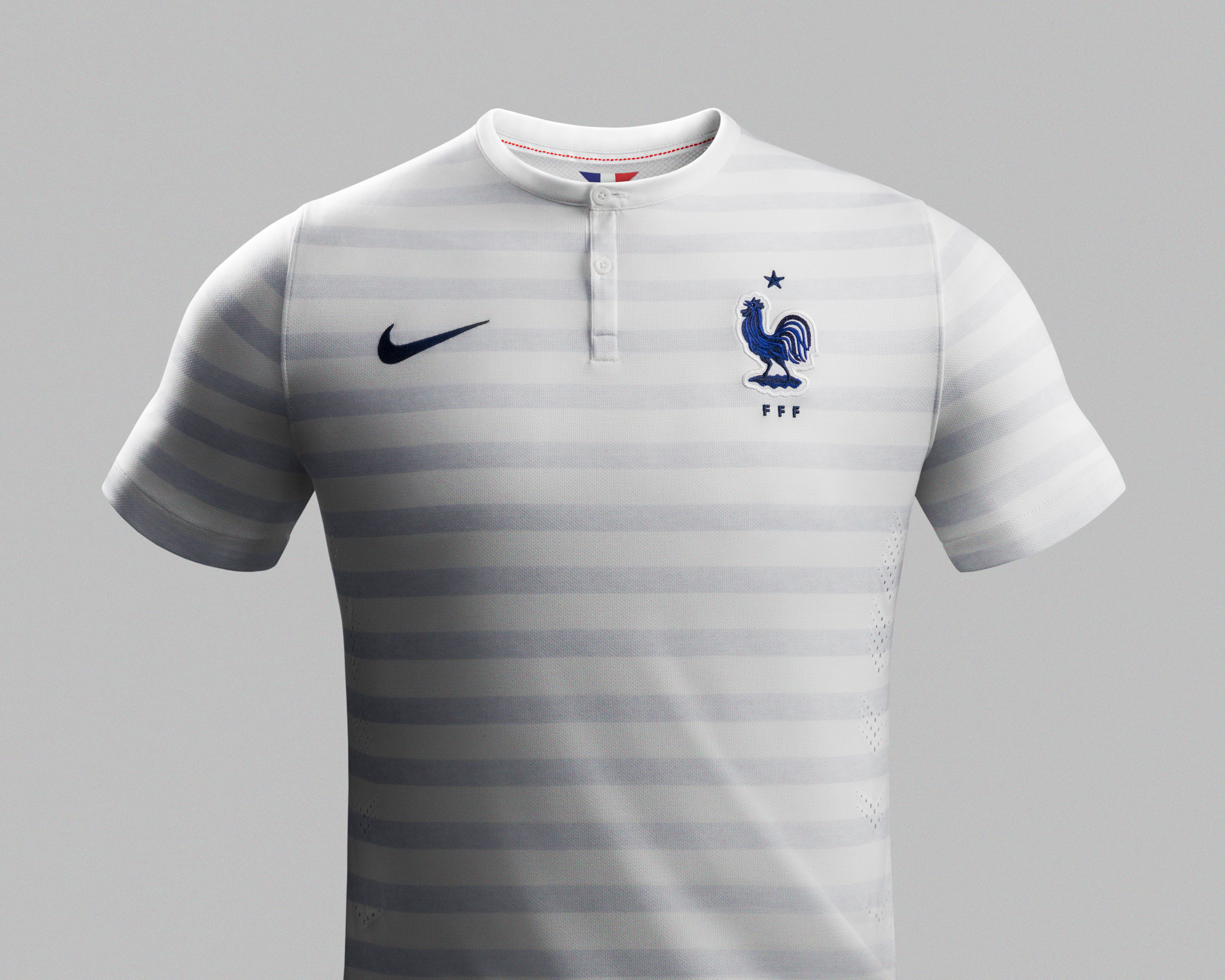 Soccer fans looking for a sure-fire way to show their team spirit can look no further than our lineup of French soccer jerseys from respected sports brands like adidas, Nike and Puma. Be proud to wear top-of-the-line French National Team Jerseys on Jerseys on any occasion.