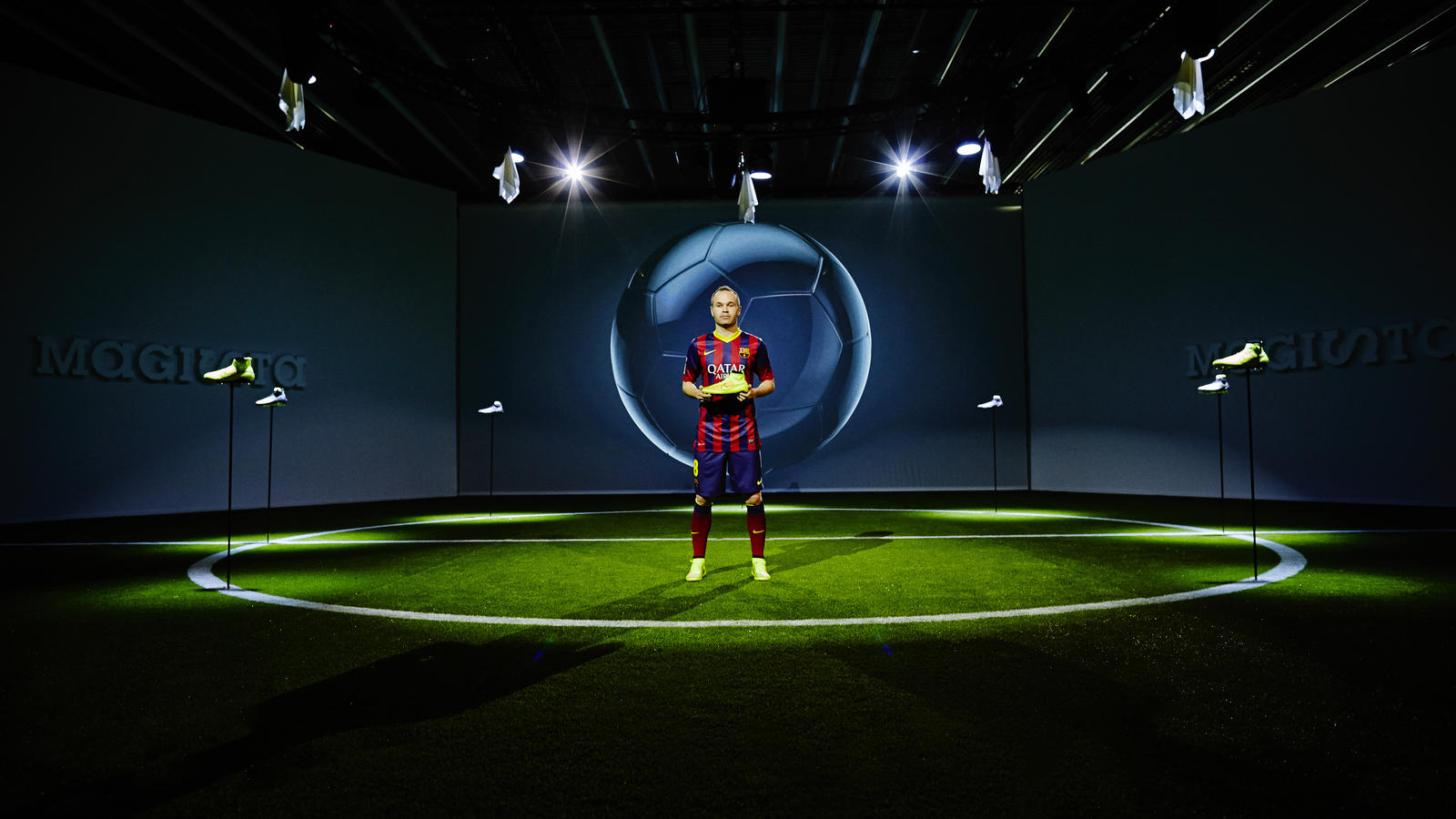Andres Iniesta and The Magista