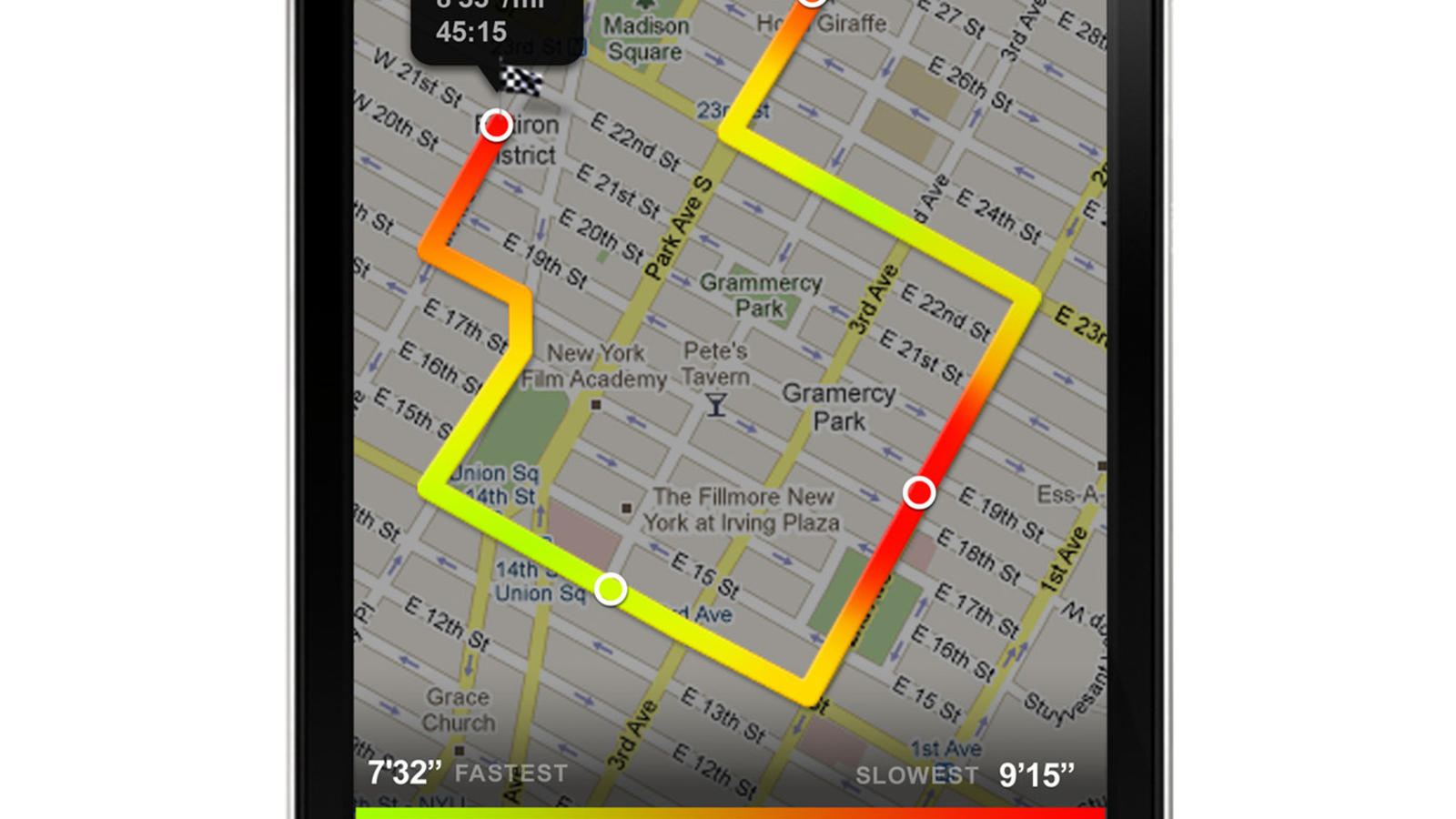 map a run, map a cut, map a drive, map a path, map a course, map a process, map a distance, on map a route app