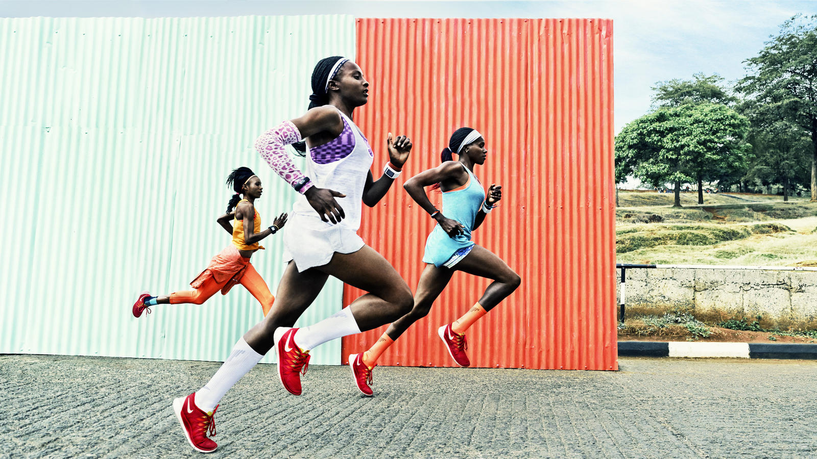 Nike Free 2014: Jeptoo, Obiri, Sum